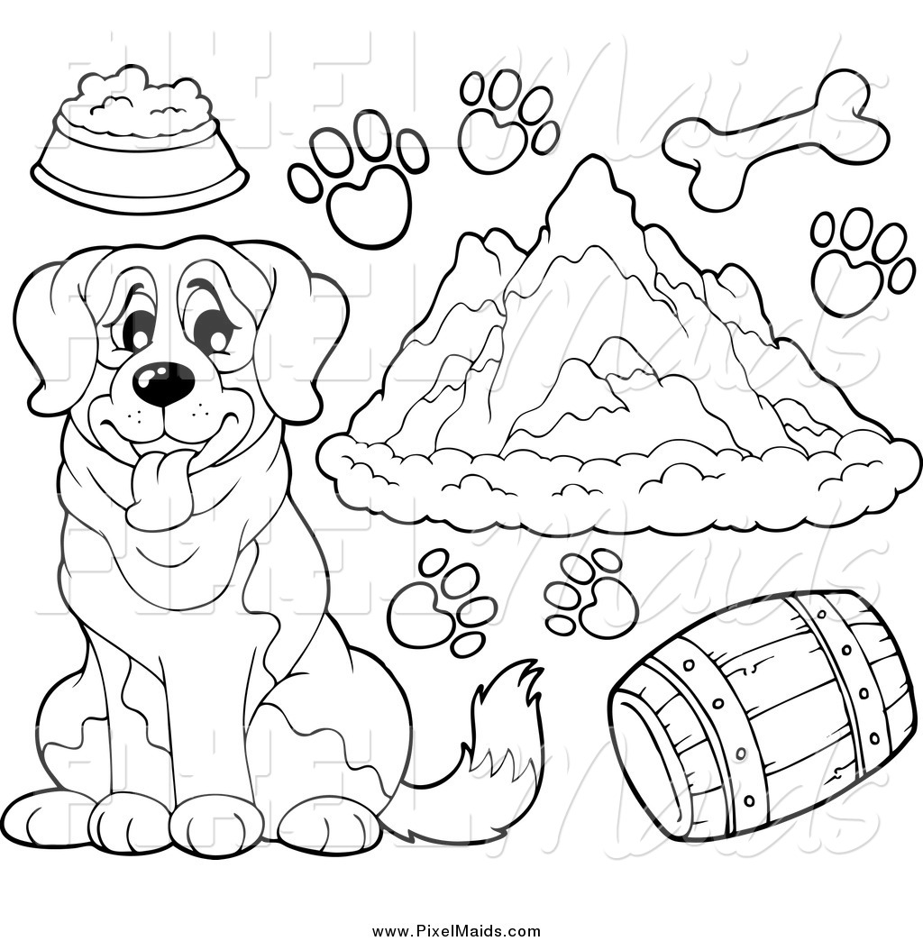 royalty free stock maid designs of coloring pages