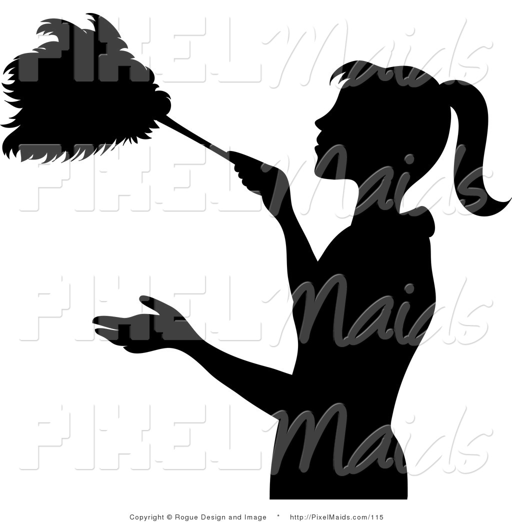 Royalty Free Cleaning Service Stock Maid Designs