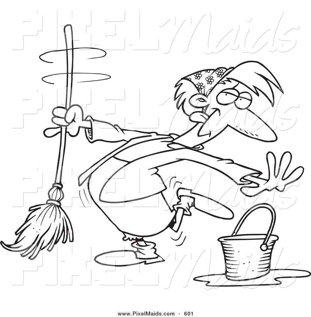 Coloring pages vacuum cleaner
