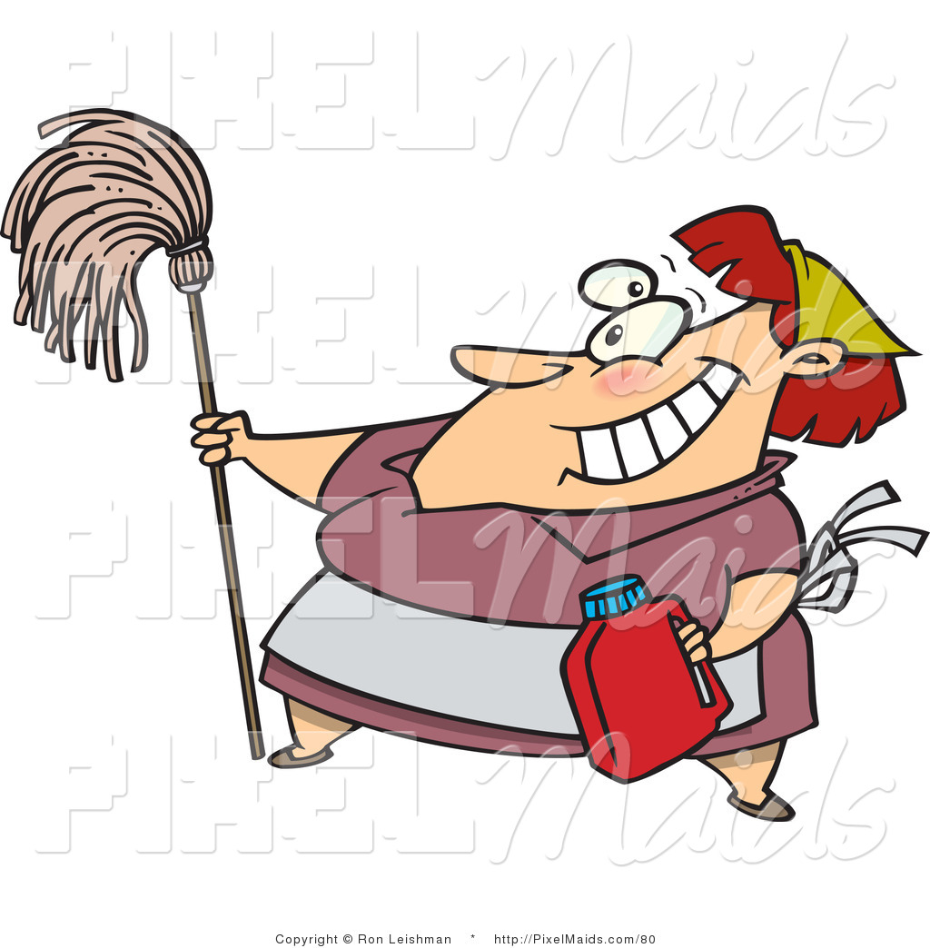 House cleaning cartoon house cleaning clip art