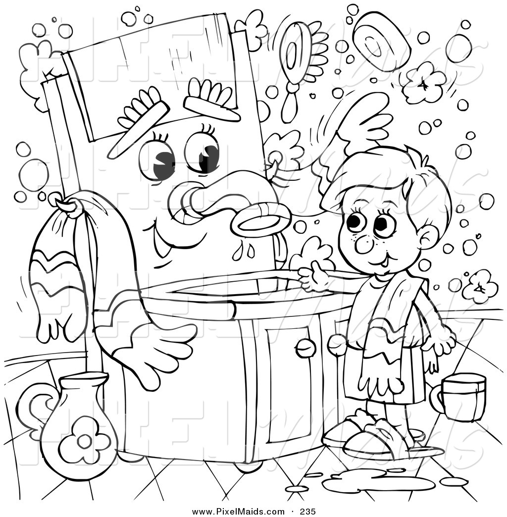 custodian coloring pages - photo#24