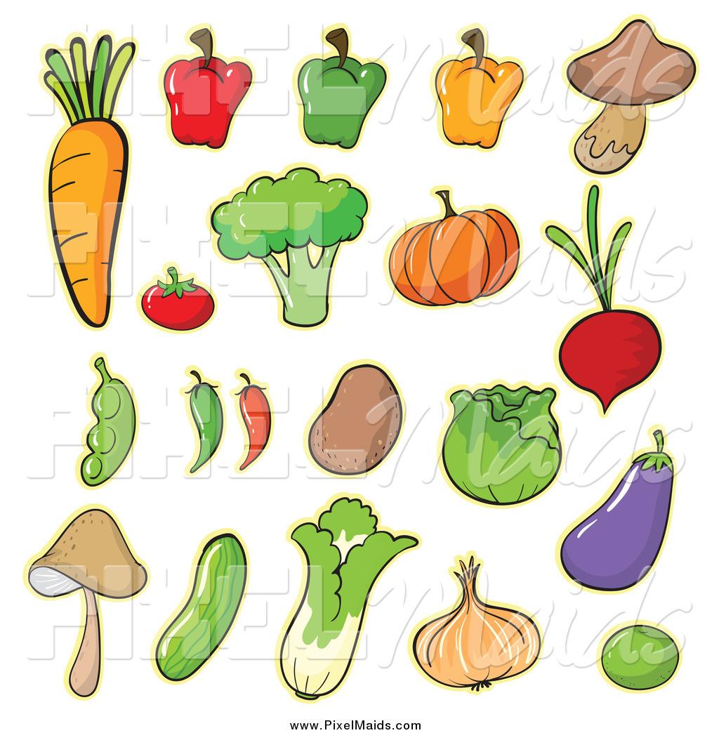 clip art cartoon vegetables - photo #9