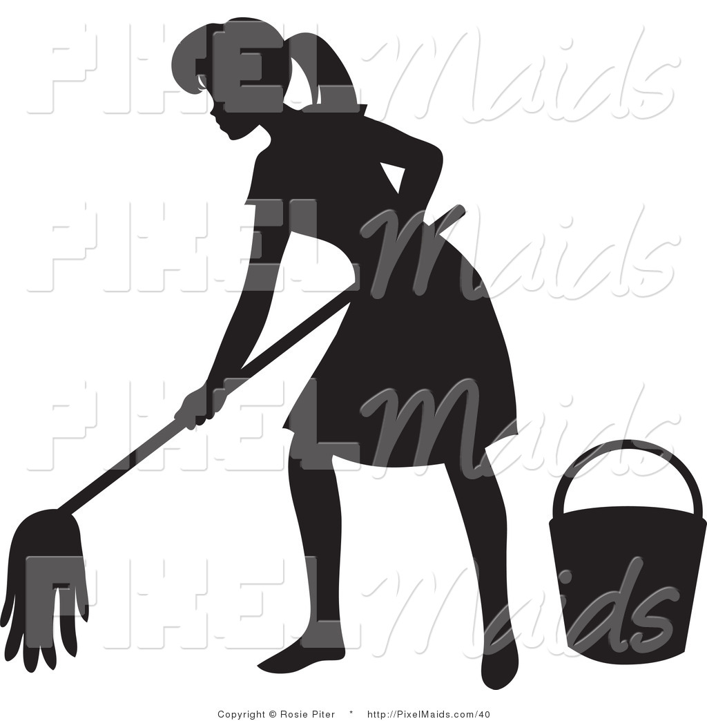 mop silhouette www pixshark com images galleries with janitorial clipart janitor clip art pictures