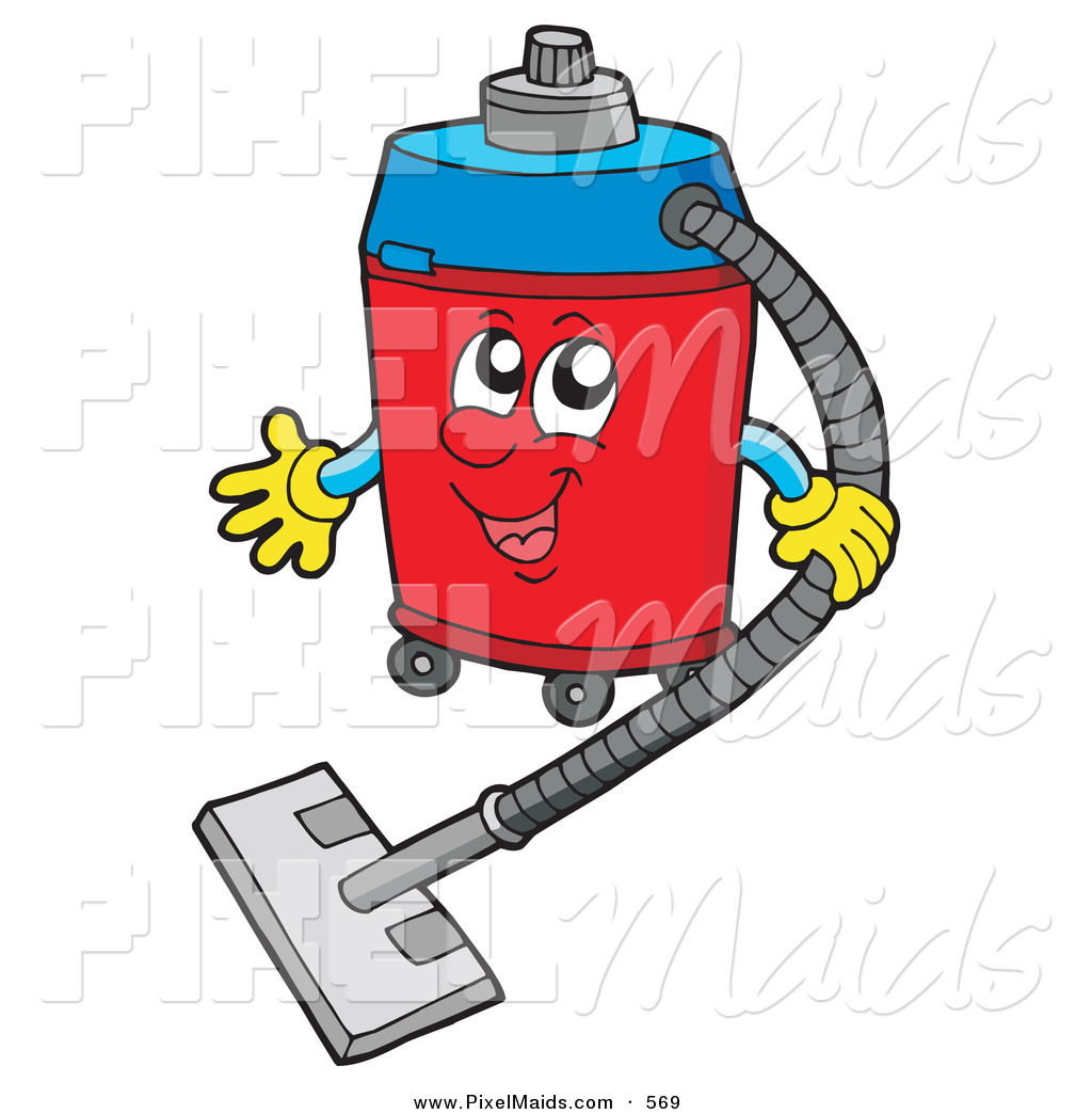 Royalty Free Stock Maid Designs Of Vacuums